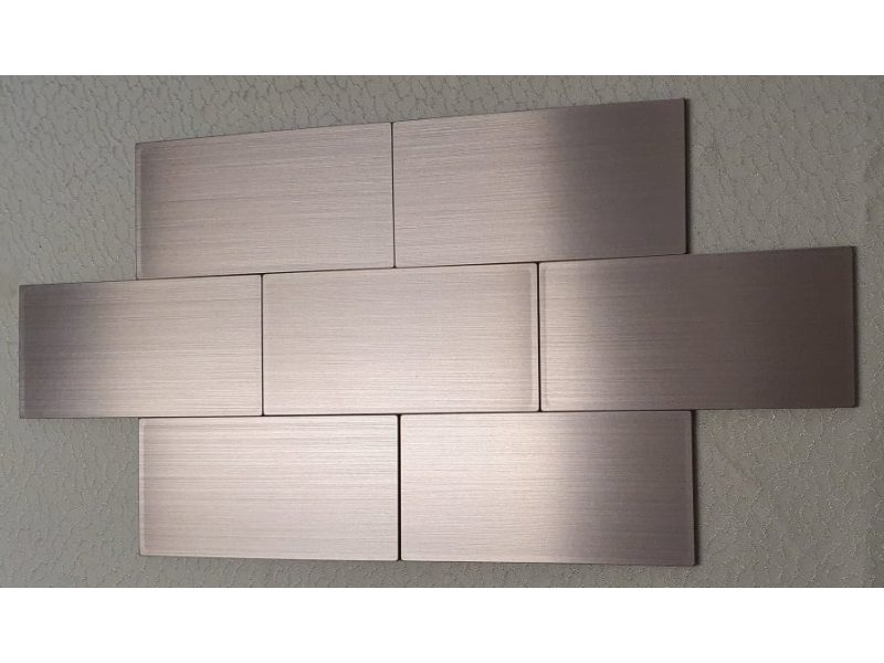 LIA Alumínium  Öntapadós 3D Csempematrica