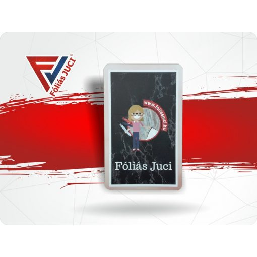 """Memória és """"Fekete"""" Fóliás Jucikártya"""