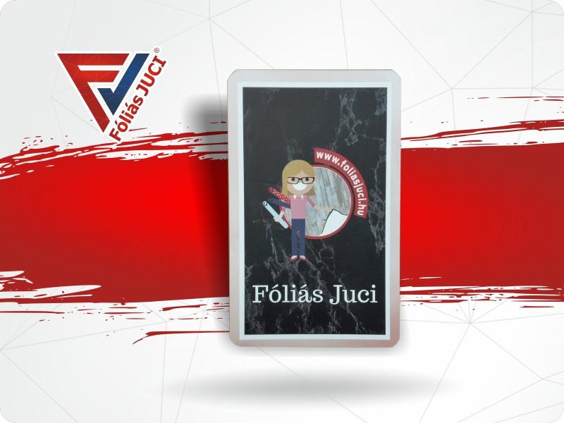 """Memória És """"Fekete"""" Fóliás Juci Kártya"""
