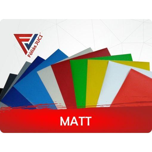 Egyszínű Matt Öntapadós Fólia Termékminta Csomag