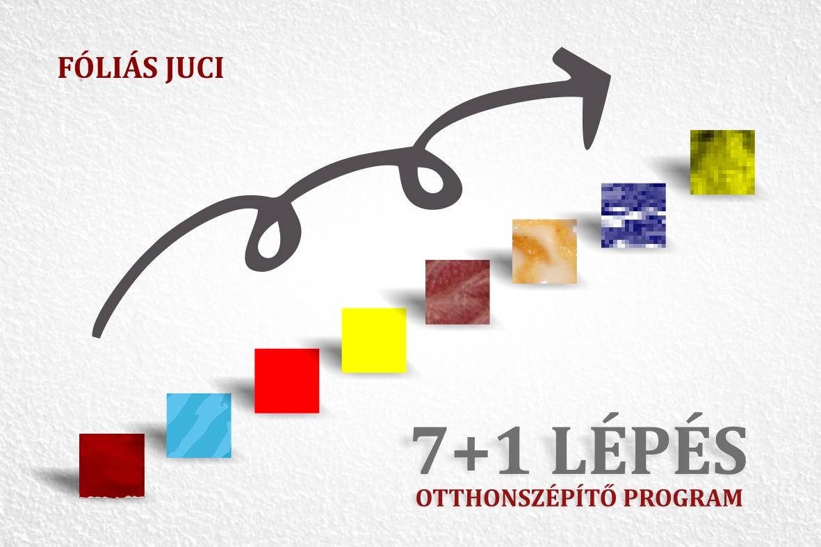 FÓLIÁS JUCI 7+1 LÉPÉSES OTTHONSZÉPÍTÉS PROGRAM